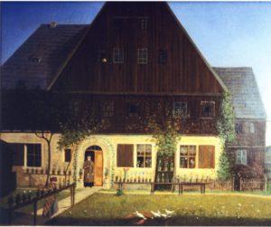 pfarrhaus-nach-einem-oelbild-von-carl-gustav-esaias-haentzschel-zwischen-1786-und-1855